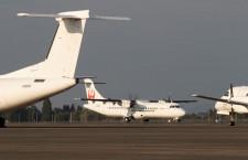 「Q400後継として活用」写真特集・JAC ATR72鹿児島到着