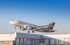 ACJ320neo、初飛行 A320neoのビジネスジェット版