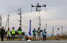 ANA、五島列島でドローン配送実験 離島の利便性向上へ