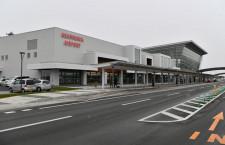 旭川空港、就航率99%と北海道の真ん中アピール