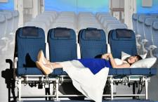 綾瀬はるか「奥行きあり、くつろげそう」特集・ANA A380のシート(カウチ・エコノミー編)
