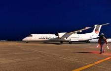 JACのQ400、ひっそり定期運航終える ラストは退役記念チャーター