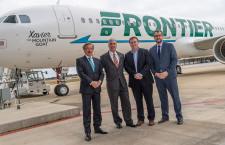 ALC、米国製A321初受領 フロンティア航空にリース