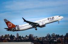 フィジー・エアウェイズ、737 MAX 8受領 南太平洋で初導入