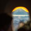 富士山より200メートル上から観賞 写真特集・平成最後の初日の出フライト(ANA編)