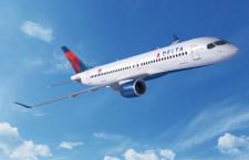 デルタ航空、A220を15機追加発注 初のA220-300、20年受領