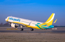セブパシフィック航空、A321neo初号機受領