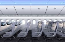 777X、窓16%大きく ボーイングが客室イメージ公開