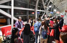 エアアジアX、関空-台北就航 参入9社目、イスマイルCEO「市場に刺激与える」