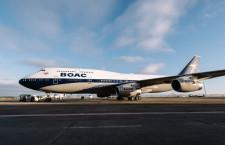 BAの747、復刻塗装2機展示へ BOACとランドー