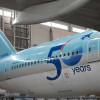 大韓航空、創立50周年で特別塗装機 777やA380など5機種10機