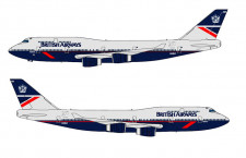 ブリティッシュエア、747に80年代デザイン復刻 23年退役まで