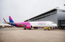 ウィズエアー、A321neo初号機受領