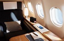 スイス国際航空、新仕様A340が成田到着 今夏までに全機改修