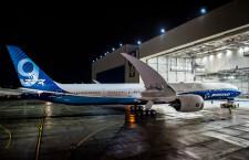 777Xの初飛行、24日に延期 天候不良で
