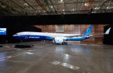 777X、23日に初飛行へ ボーイングがライブ中継