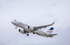 スイスVIPチャーター社、ACJ320neo初号機受領 A320neoビジネスジェット