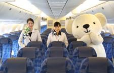 エア・ドゥ、新仕様767公開 充電用USB付レカロシート