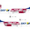 スカイマーク、ヴィッセル神戸とスポンサー契約 5月からラッピング機
