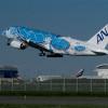 エアバス、19年1-3月期納入146機、受注62機 A380、ANAに初号機