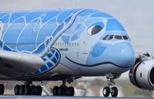 ANA、A380にミシュランタイヤ採用