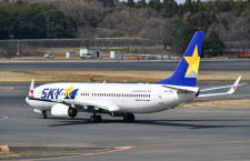 スカイマーク、19年5月の搭乗率80.4% 羽田便は86.2%