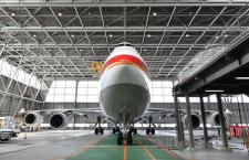 地球365周で退役 写真特集・政府専用機B-747-400