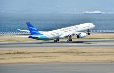 ガルーダ、中部-ジャカルタ就航 初の直行便、大村知事「悲願」