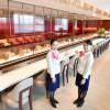 JAL、伊丹空港の新ラウンジ公開 席数1.5倍、ダイヤは青汁復活