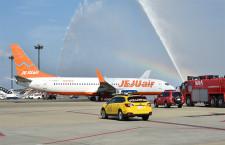 チェジュ航空、成田-務安就航 地方からの誘客拡大へ