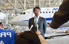 ANA、737 MAX発注継続へ 片野坂社長「対策できれば方針変えず」