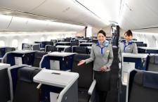 A380と同じ新フルフラットシート 写真特集・ANA 787-10(ビジネスクラス編)