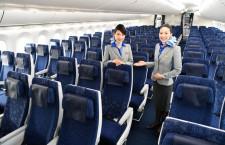 個人用モニターは世界最大13.3インチ 写真特集・ANA 787-10(エコノミー編)