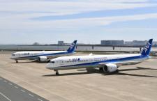 ANA、787-10公開 胴体最長の787、新シートで東南アジア路線に