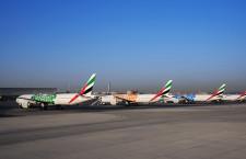 エミレーツ航空、ドバイ万博PRのデザイン機 A380と777、40機に導入完了