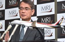 MRJ、パリ航空ショー未出展も 水谷社長「TC取得が最優先」