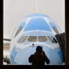 空飛ぶウミガメ、ハワイ初飛来 写真特集・ANA A380フィットチェック
