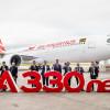 エアバス、納入70機 受注5機 19年4月