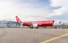 エアアジア初のA330neoロールアウト タイ・エアアジアXが6月運航開始