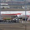 首相乗せ欧米へ 写真特集・新政府専用機B-777初仕事