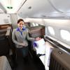 ANA、空飛ぶウミガメA380公開 ファーストクラスやペア席ビジネスも