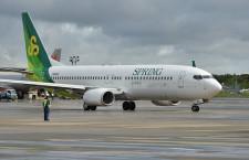 春秋航空日本、繁忙期の国内2路線減便 広島・札幌、1日1往復に