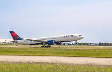 デルタ航空、A330neo初号機受領 成田8月就航