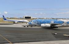 ANA、国際線8割運休 ホノルル全便運休、4月まで