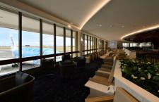 ダイヤモンドヘッドやA380眺めて食事 写真特集・ANAホノルル新ラウンジ
