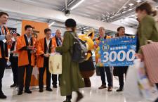 ジェットスター・ジャパン、累計3000万人 片岡社長「国内線シェアで首位維持」