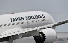 JAL、国際線利用率79.5% 19年5月