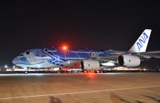 ANA、A380で初日の出フライト 成田発着、羽田は777