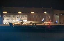 ANA、777F貨物機が羽田到着 7月就航