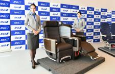 ANA、国内線777新仕様機が11月16日就航 初便は羽田-福岡、電源とモニター完備新シート